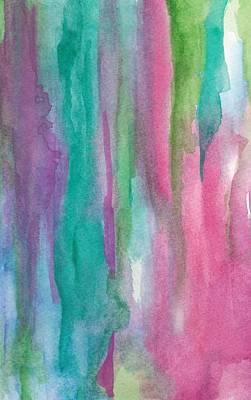 Mixed Media - Pinks by Laura K Aiken