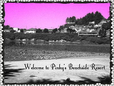 Photograph - Pinky's Beachside Resort by Absinthe Art By Michelle LeAnn Scott