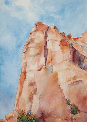 Arch Shapes Painting - Pinnacle by Mary Benke