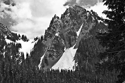 Photograph - Pinnacle Peak by Gary Silverstein