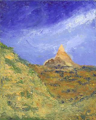 Painting - Pinnacle Peak by Joe Leahy