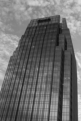 Photograph - Pinnacle Reflections In Black And White by Robert Hebert