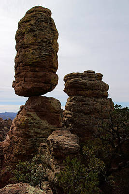 Photograph - Pinnacle Rock At Chiricahua by Daniel Woodrum