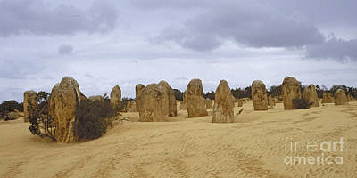 Photograph - Pinnacles Australia by Rudi Prott
