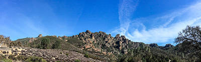 Photograph - Pinnacles Panorama by Roger Mullenhour