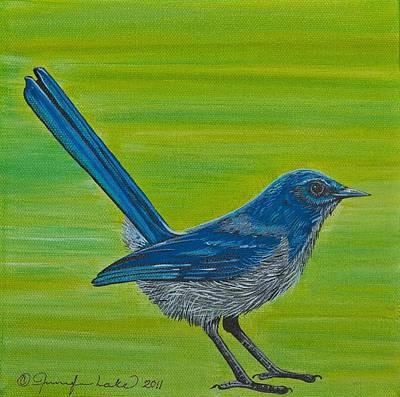 Painting - Pinny by Jennifer Lake