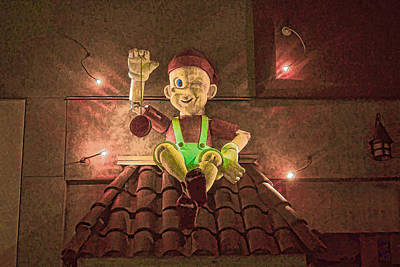 Digital Art - Pinocchio  by Photographic Art by Russel Ray Photos