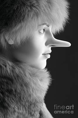 Pinocchios Daughter Art Print by Sophie Vigneault