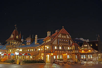 Photograph - Pinocchio's Village Haus by AK Photography