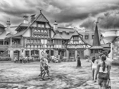 Photograph - Pinocchio's Village Haus by Howard Salmon