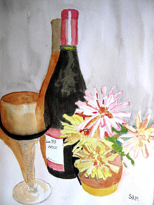 Painting - Pinot Noir by Sandy McIntire