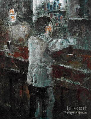 Painting - Pint Time by Val Byrne