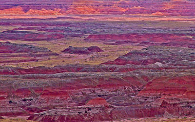 Pintado Point In Painted Desert In Petrified Forest National Park-arizona Original