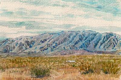 Painting - Pinto Mountains by Sandra Lytch