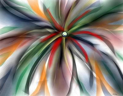Painting - Pinwheel Abstract by Ron Grafe
