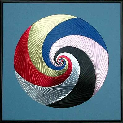 Mixed Media - Pinwheel by Ron Davidson