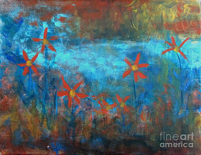 Painting - Pinwheels by Karen Day-Vath