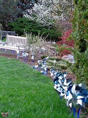 World War 2 Action Photography - PinWheels of Hope  by Jannice Walker