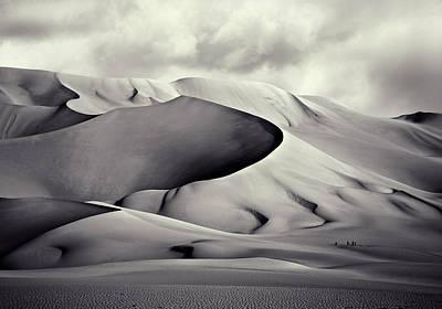 Sand Dunes Photograph - Pinza De Arakao, Desierto Del Tenera?. by Artistname