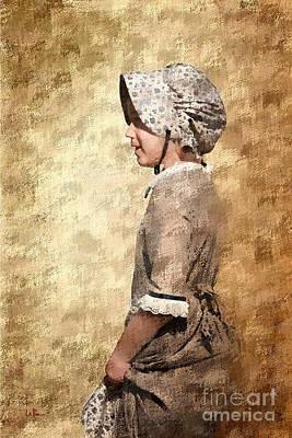 Pioneer Girl 2 Art Print by Betty LaRue