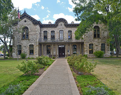 Photograph - Pioneer Memorial Library by Allen Sheffield