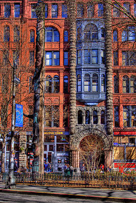 Storefront Photograph - Pioneer Square No.1 by David Patterson