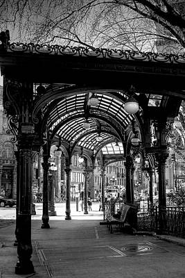 Pioneer Square Pergola Art Print by David Patterson