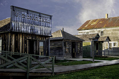 Photograph - Pioneer Village by Judy Hall-Folde