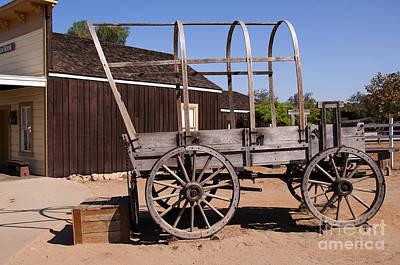Photograph - Pioneer Wagon by Brenda Kean