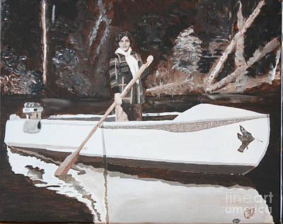 Pioneer Woman Painting - Pioneer Women by Christine Dekkers