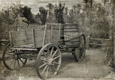Photograph - Pioneer Work Wagon by Kathleen Scanlan