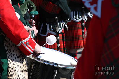 Pipe And Drums Art Print