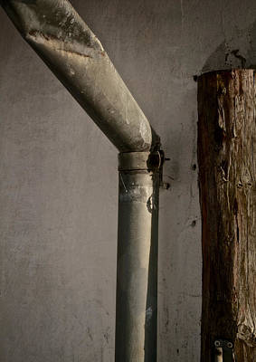 Waterspout Photograph - Pipe And Post by Odd Jeppesen