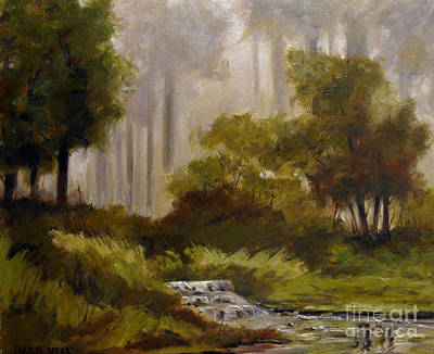 Watershed Painting - Pipe Creek Hollow by Charlie Spear