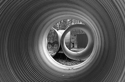 Metal Art Abstraction Photograph - Pipe Dream by Luke Moore