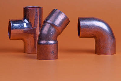 Photograph - Pipe Fittings by Marek Poplawski