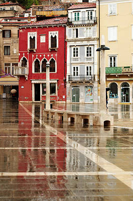 Piran Tartini Square Art Print