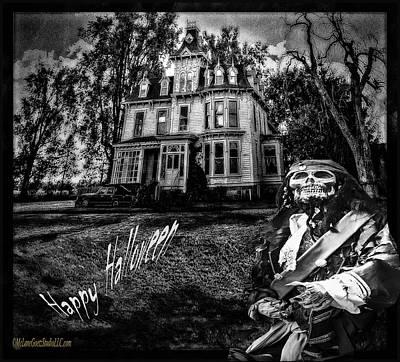Graveyard Photograph - Pirate House Of Terror by LeeAnn McLaneGoetz McLaneGoetzStudioLLCcom