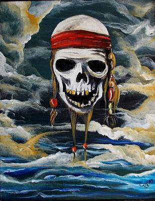 Pirate Past Art Print