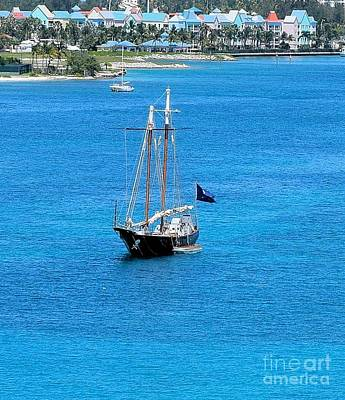 Photograph - Pirate Ship In Nassau Harbor by Janette Boyd
