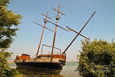 Photograph - Pirate Ship Or Sailing Ship by Sue Smith