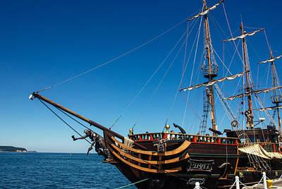 Pirate Ship Art Print by Pati Photography