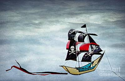 Photograph - Pirate Ship by Peggy Hughes