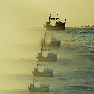 Photograph - Pirate Ship X Five by Florene Welebny