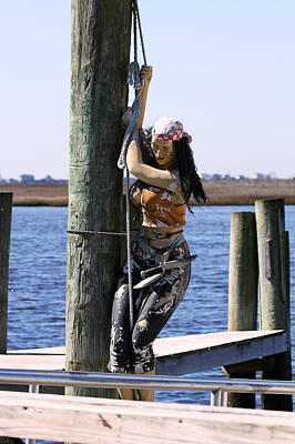 Pirate Wench Photograph - Pirate Wench by David Byron Keener