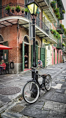 Photograph - Pirate's Alley - French Quarter by Kathleen K Parker