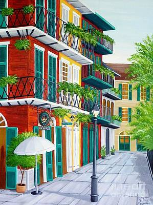 Painting - Pirates Alley by Valerie Carpenter