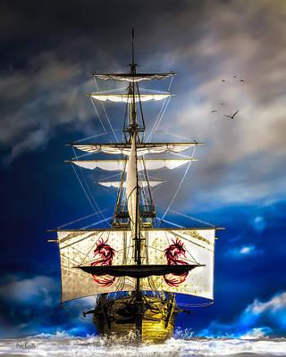 Surrealism Digital Art - Pirates by Bob Orsillo