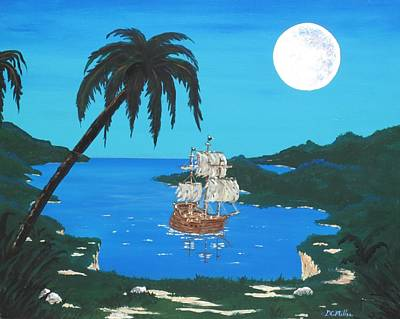 Pirate's Cove Art Print by Don Miller