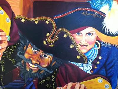 Pirates Art Print by Sherri Carroll